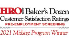 Info Cubic Named to 2015 Baker's Dozen Employee Screening List